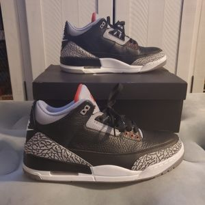 Nike Air Jordan 3 Retro OG Black Cement 12.5 GREAT